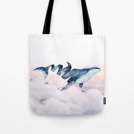 Magic Whale Tote Bag