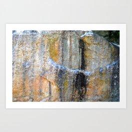 Colored Stone Art Print