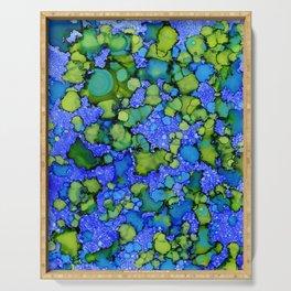 Algae Splatter Serving Tray