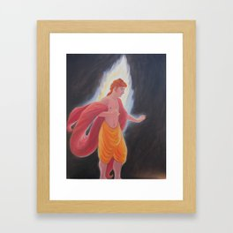 Apollo Confronts the Darkness Framed Art Print