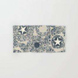 cirque fleur stone Hand & Bath Towel