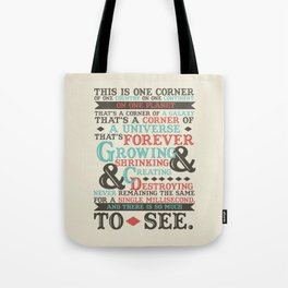 There Is So Much To See Tote Bag