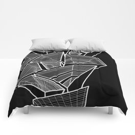 Pockets - Inverted B&W Comforters