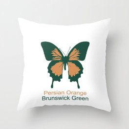 Ulysses Butterfly 10 Throw Pillow