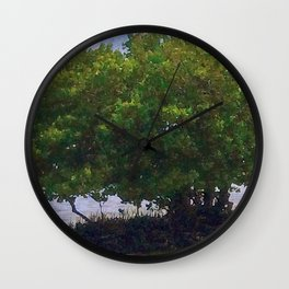 Mangrove Tree Wall Clock