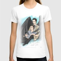 destiel T-shirts featuring Fluffy Muffly Destiel by bayobayo