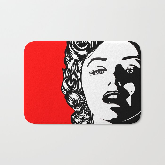 Marilyn01-1 Bath Mat