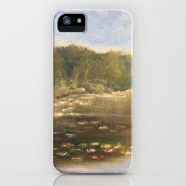 Turtle Pond iPhone Case