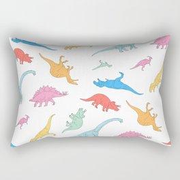 Dino Doodles Rectangular Pillow