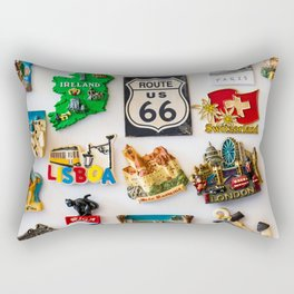 Fridge Magnet Wanderlust Rectangular Pillow