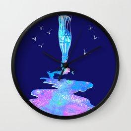 Bottled feelings Wall Clock
