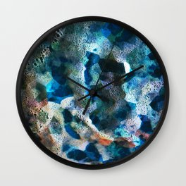 FRACTAL FOAM Wall Clock