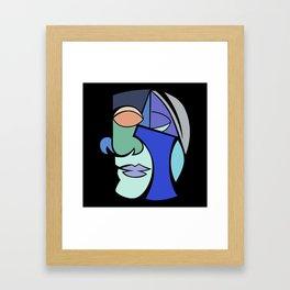 The Face 2 Framed Art Print