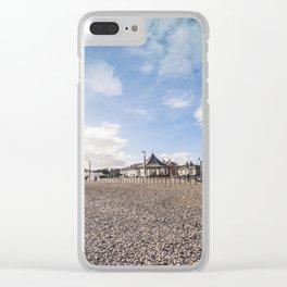 Bray beach landscape Clear iPhone Case