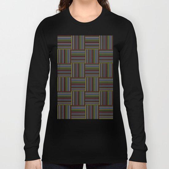 Basket Weave Long Sleeve T-shirt