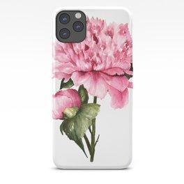 Peony III iPhone Case