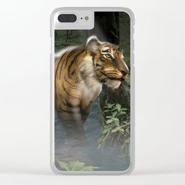 Nightly Stroll Clear iPhone Case