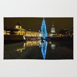Trafalgar Square Christmas Tree Rug