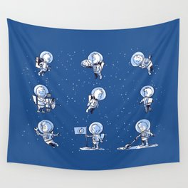 Little Astronauts Wall Tapestry
