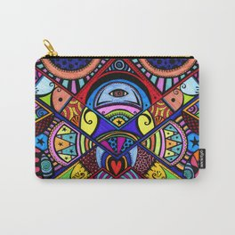 The war between the head and the heart Carry-All Pouch