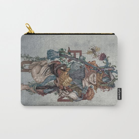 Human naturally Carry-All Pouch