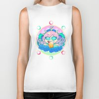 pastel goth Biker Tanks featuring follo 4 more ~*pastel goth*~ by Ceebs