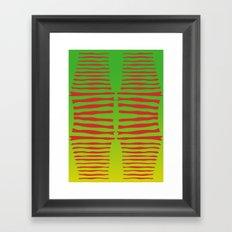 Jurassic Legs Framed Art Print