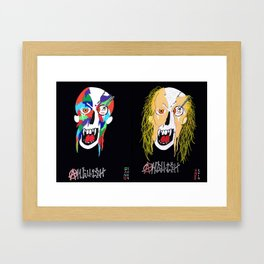 HOODLUMS Framed Art Print