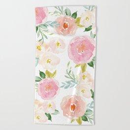 Floral 02 Beach Towel