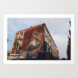Bricklane Art Print