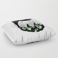 Cactus Beard Dude Floor Pillow