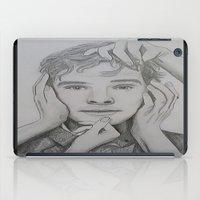 benedict cumberbatch iPad Cases featuring Benedict Cumberbatch by The Expression Studio