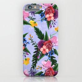 Light Watercolor Floral iPhone Case