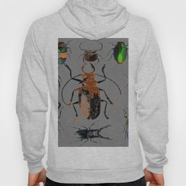 NATURE LOVERS BEETLE BUG COLLECTION ART Hoody