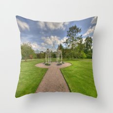 Summer Gazebo  Throw Pillow