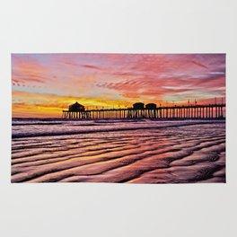 HB Sunsets Calendar Cover 2015 Rug