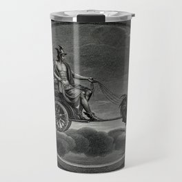 C Lasinio, after Raphael - Mercury with his Caduceus in his Chariot, Drawn by Cockerels Travel Mug