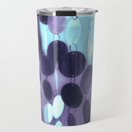 GLAM CIRCLES #Mint/Blue #1 Travel Mug
