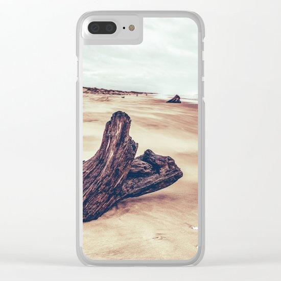 Ocean Driftwood Clear iPhone Case