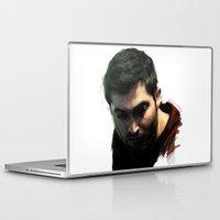 derek hale Laptop & iPad Skins featuring Derek by @cuisle