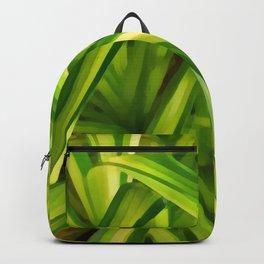Spider Plant Leaves Backpack