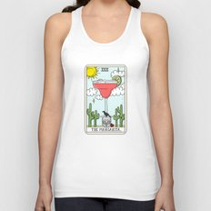 MARGARITA READING Unisex Tank Top