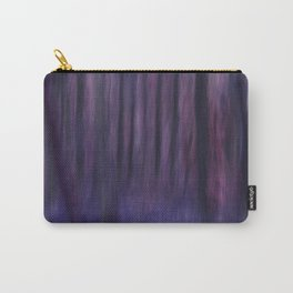 Painted Trees 2 Purples Carry-All Pouch
