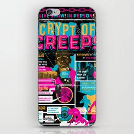 Spook Show Tribute Poster 04 iPhone Skin