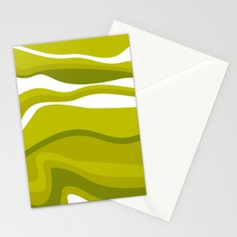 Pesto Green Stationery Cards