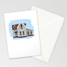 Main Street House 1 - Warren Ohio 100 Stationery Cards