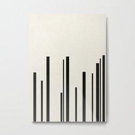 Levels Metal Print