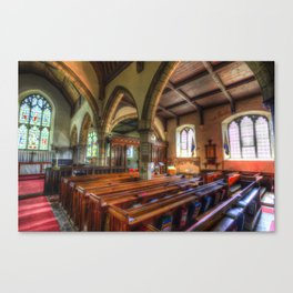 St Peter And St Paul Church Headcorn Kent Canvas Print