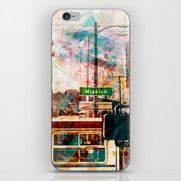 La Mission aka the District Vibe in San francisco iPhone Skin