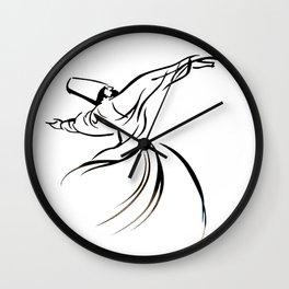 Sufi Meditation Wall Clock